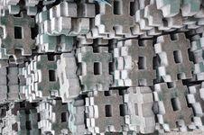 Decorative Bricks Royalty Free Stock Photo