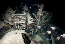 Free Inside Look Of A Truck On The SS Thistlegorm. Stock Photo - 17865920