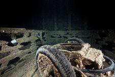 Free RAF Trolley Accumulatort On The SS Thistlegorm. Royalty Free Stock Images - 17865969