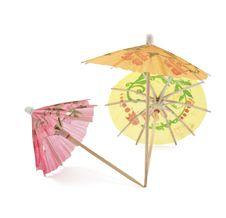 Free Umbrellas For Cocktails Royalty Free Stock Photography - 17866297