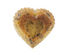 Free Muffins With Chocolate In A Heart Royalty Free Stock Photography - 17866367
