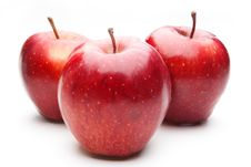 Free Red Apples, Isolated Stock Photos - 17866543