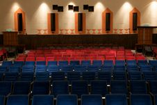 Free Theater Seating Royalty Free Stock Photos - 17867518
