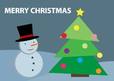 Free Christmas Illustration Royalty Free Stock Images - 17868729
