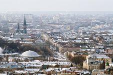 Free Winter View Of Lviv, Ukraine Stock Images - 17869214
