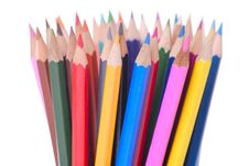 Free Colouful Pencils Stock Images - 17869474