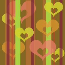 Free Hearts Wallpaper (lime) Stock Photos - 17869483