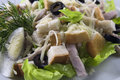 Free Chicken Caesar Salad Royalty Free Stock Image - 17873076