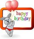 Free Birthday Bunny Stock Photo - 17878890
