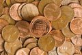 Free Stacked Pennies Royalty Free Stock Photo - 17878985