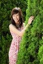 Free Young Beautiful Asian Girl Smiling Stock Image - 17879321