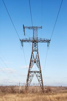 Free Transmission Power Line Stock Image - 17870511