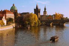 Free Vltava And Charles Bridge Stock Image - 17870571
