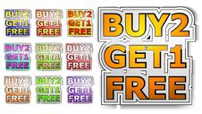 Free Buy Two Get One Free Royalty Free Stock Images - 17870609