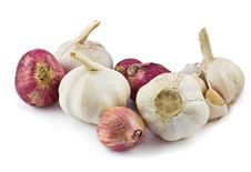 Free Garlic And Red Shallot Stock Photography - 17870872