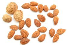 Free Almonds Isolated Stock Photos - 17871093