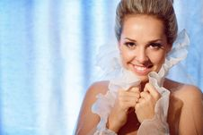 Free Bride And Veil Royalty Free Stock Photos - 17871268