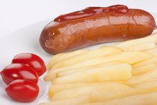 Free Sausage Royalty Free Stock Images - 17872949