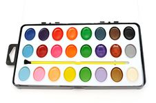 Free Paints Royalty Free Stock Image - 17873346
