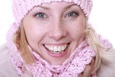 Free Winter Woman Stock Photo - 17873480