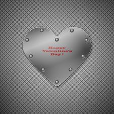 Free Valentine Background With Heart. Stock Photos - 17873493