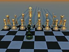 Check Mate Royalty Free Stock Photography