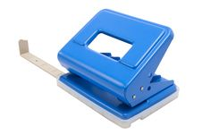 Free Blue Hole Puncher Stock Photos - 17873843