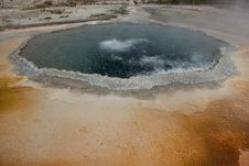Free Upper Geyser Basin - Yellowstone National Park Stock Photography - 17874692