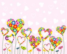 Free Valentine Greeting Card Royalty Free Stock Images - 17874729