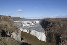 Free Gullfoss Waterfall In Iceland Royalty Free Stock Photo - 17875765