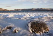 Free Frozen Lake In Iceland Royalty Free Stock Photo - 17875995