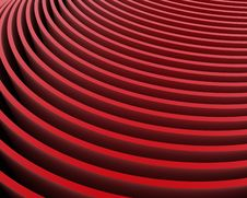 Free Red Velvet Rows Royalty Free Stock Image - 17876616