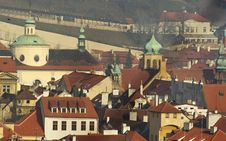 Prague Roofs And Towers