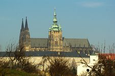 Free Saint Vitus  Cathedral In Prague Stock Photo - 17877530