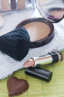 Free Make Up Royalty Free Stock Photo - 17878415