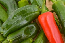 Free Padron Peppers Royalty Free Stock Photography - 17878457