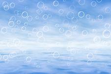 Free Sea Blue Stock Image - 17878861