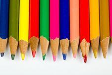 Free Colored Pencils Stock Photo - 17879000