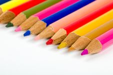 Free Colored Pencils Stock Photo - 17879010