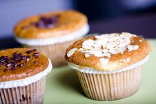 Free Muffins Royalty Free Stock Photography - 17879277