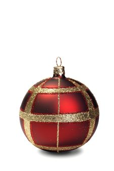 Free Red Christmas Bauble Royalty Free Stock Image - 17879856