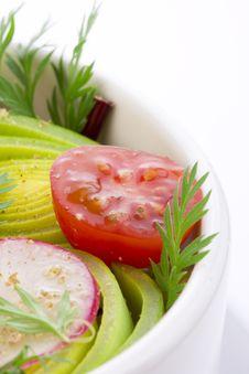 Free Close Up Of Salad Bowl Stock Photos - 17879973