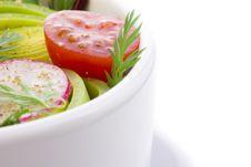 Free Close Up Of Salad Bowl Stock Photos - 17879993