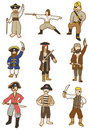 Free Cartoon Pirate Icon Royalty Free Stock Images - 17884069