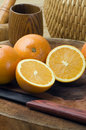 Free Oranges And Knives Royalty Free Stock Photos - 17884428