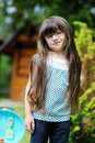 Free Girl With Long Hair Play With Toy Royalty Free Stock Photography - 17885317