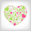 Free Heart Shape. Vector Royalty Free Stock Photos - 17888628