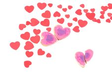 Free The Broken Hearted Cookie Stock Images - 17880014