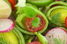 Free Organic Spring Mix Close Up Stock Photo - 17880090