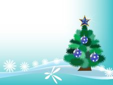 Free New Year Tree Royalty Free Stock Photography - 17880267